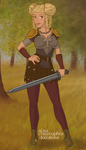 HTTYD2: Thyra older by whitefire33