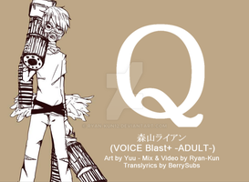 [UTAU Cover] Q [Ryan Moriyama] by ryan-kun12