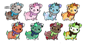 puppy adoptables by wastedpain