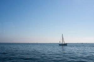 Sailboat Sailing by FellowPhotographer