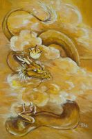 The Golden Dragon by Puppy-Chow
