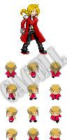 Pkmn Sprites: Edward Elric by cacell