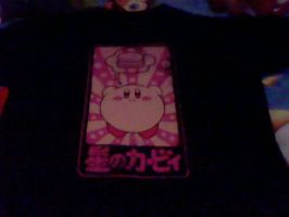 my kriby t-shirt by Kingdomhearts1994