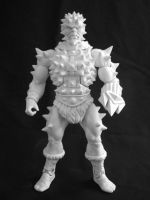 MOTUC custom Spikor WIP by masterenglish
