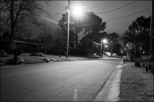 Street outside my house by ProneSniper