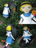 Alice in Wonderland Doll by Charis