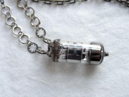 Vaccum Tube Pendant by clockwork-zero