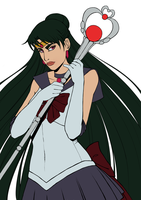 AT: Sailor Pluto [wip] by Zwiezda