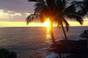 Hawaiian Sunset by cordria
