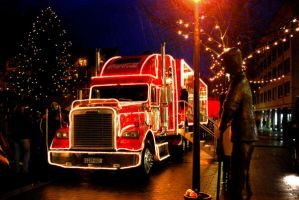 The Coca Cola Truck by lani-heartcore
