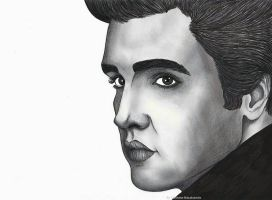 Elvis Presley by ChristinePresley