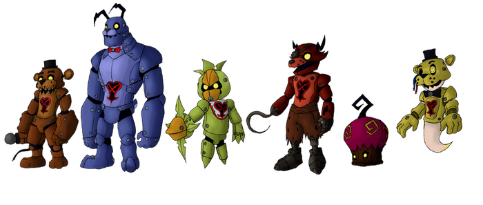 Heartless: Animatronics of Darkness by IronClark