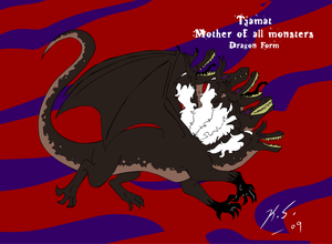 Tiamat, dragon form