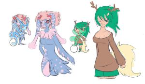 Sketches Adoptables (CLOSE) by Toast-Adopts