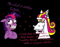 Twilight Sparkle meets Twinkle. by raggyrabbit94