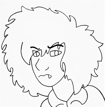 I Think That's What I Would Look Like In WJS Style by tristananimation