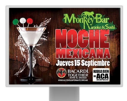 Noche Mexicana - Monkey Bar by Mgl-23