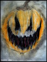 A Carved Smile Upon a Pumpkin Face by Dandy-Jon