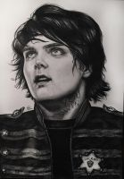 Gerard Way by marikagrig