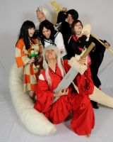 Inu Yasha derp group by VampirePete