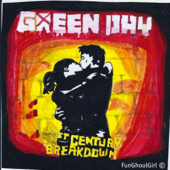 21st Century Breakdown Cover by FunGhoulGirl