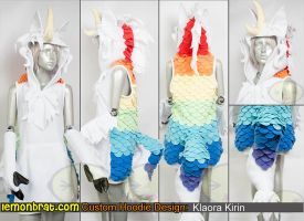 Klaora Kirin Custom Dress! by lemonbrat