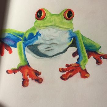 First Frog by PaintedonPermanently