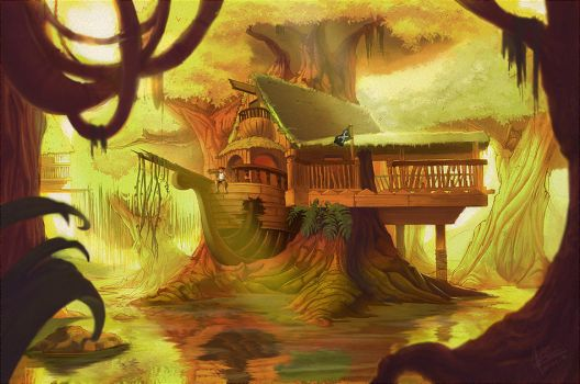 The Swamp by Shye6686 by TheNass