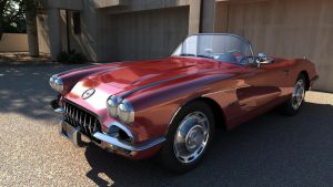 Chevrolet 1960 Corvette C1 by melkorius