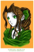 Green Aerith by sererena