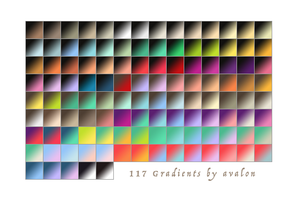 Favorite Gradients by AvalonsArt