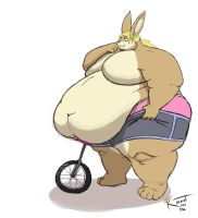 Rolly Cycle by Kazecat