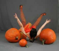 Pumpkin Fairy 30 by MajesticStock