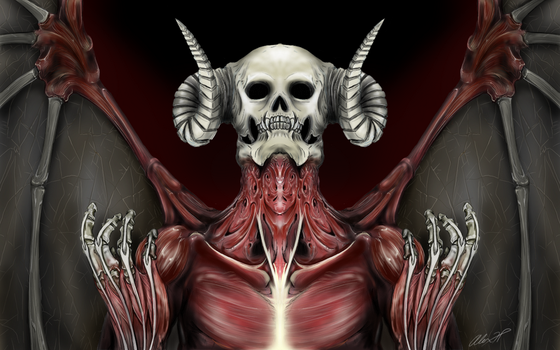 Flayed Demon by alexhp25
