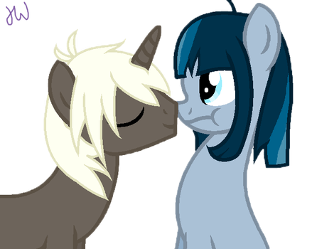 Cute Nose Boop by Rainbow-Wubs