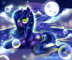 Sea of fireflies by AquaGalaxy