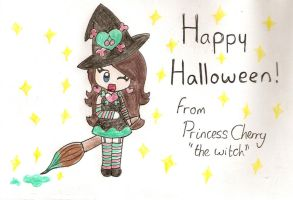 happy halloween :D by Peach-X-Yoshi