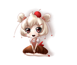 Muffin-Chan by Bitter-Cherry