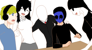 Creepypasta friends by kisamelover34