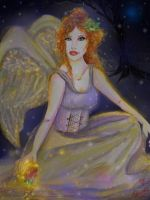 """""""Holly Ivy Angel and The Rose"""" by tessieart333"""