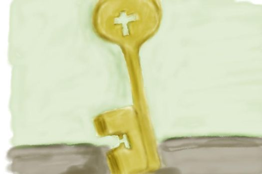 Key Painting by DannySheds