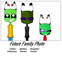 Future Family Photo by InvaderSony12345