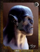 AZOG-02 by rieraescultura-art