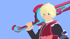 Shulk Vectorized wallpaper by Browniehooves