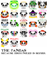 The Disgruntled Pandas by springloaded