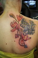 freehand orchid by SimplyTattoo