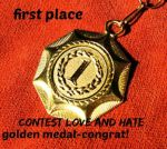 Place 1-CONTEST-LOVE AND HATE by YOKOKY