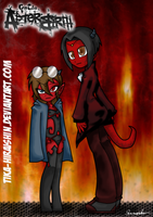 Siblings from hell... by Tika-Hiraishin