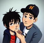 Sad bros ~ behindinfinity by chachi411