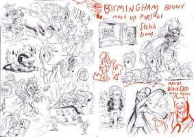 brummie Brony meet pony sketch up round 5 part 2 by Jowybean
